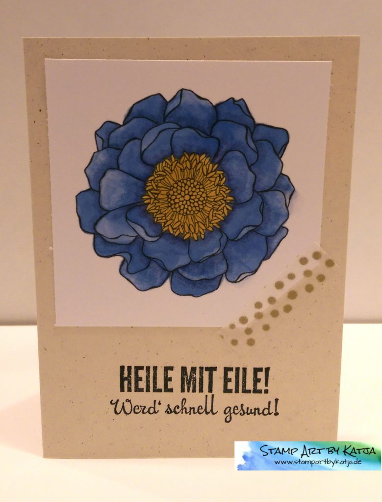Stampin' Up! Blended Bloom - Fantastische Vier - Heile mit Eile