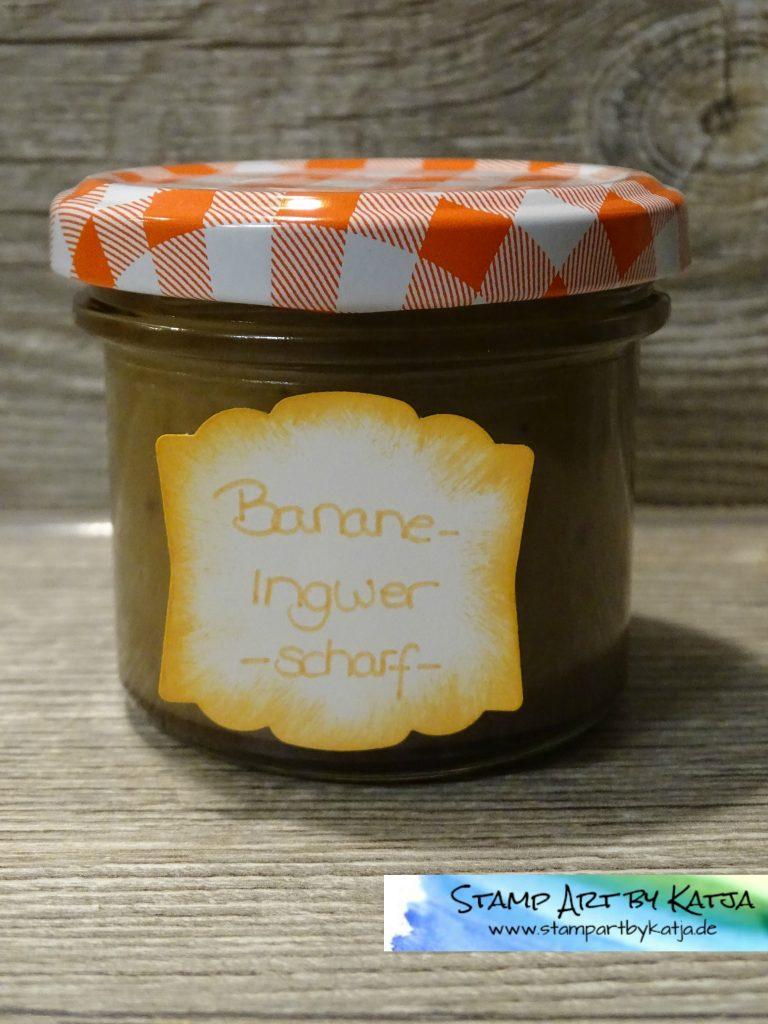 Banane Ingwer -scharf-
