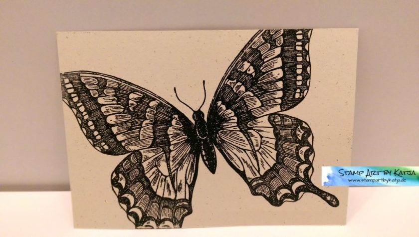 Stampin' Up! Swallowtail Post Card - Vorderseite