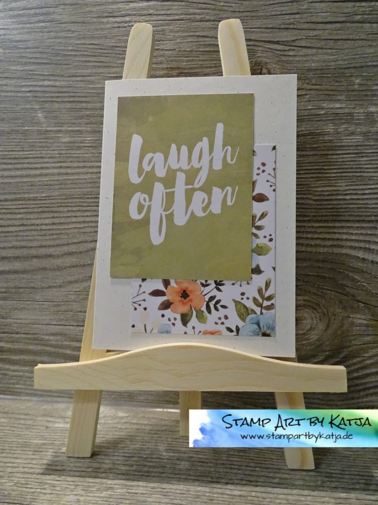 Stampin' Up! Project Life Hallo, Sonnenschein