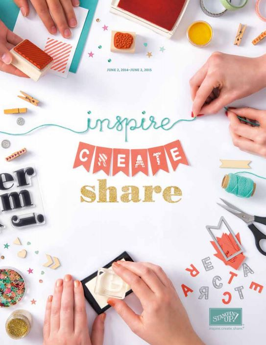 INSPIRE, CREATE, SHARE CATALOGO 2014-2015