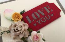 LOVE YOU TICKET ROMANTICO