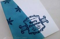 CHRISTMAS MASKING CARD