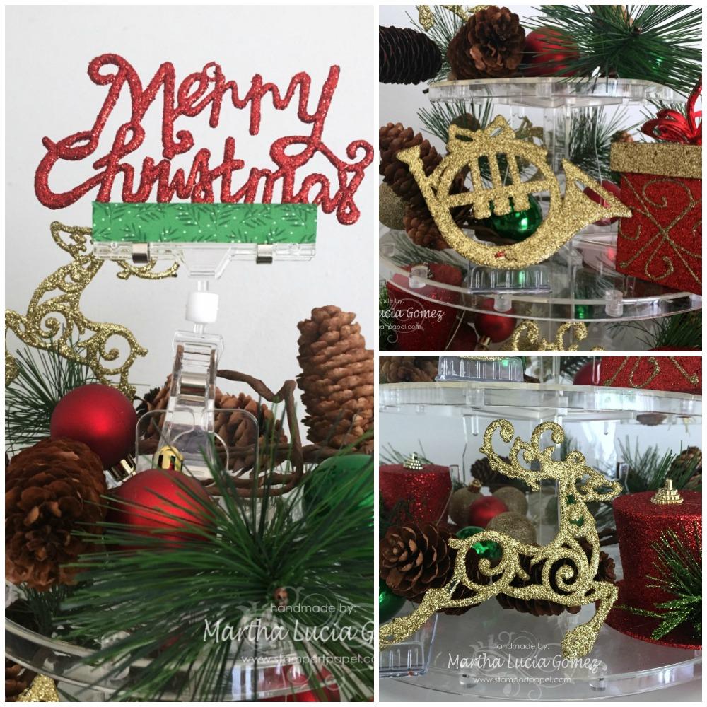 3 TIER CHRISTMAS TREE