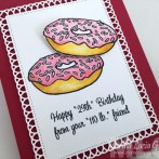 BIRTHDAY DONUTS CARD
