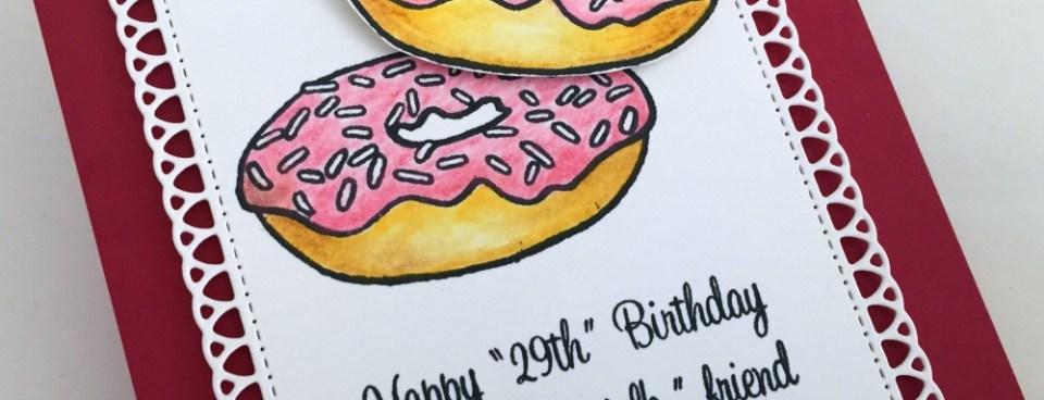 BIRTHDAY DONUTS CARD
