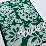 DOUBLE EMBOSSING TECHNIQUE CARD