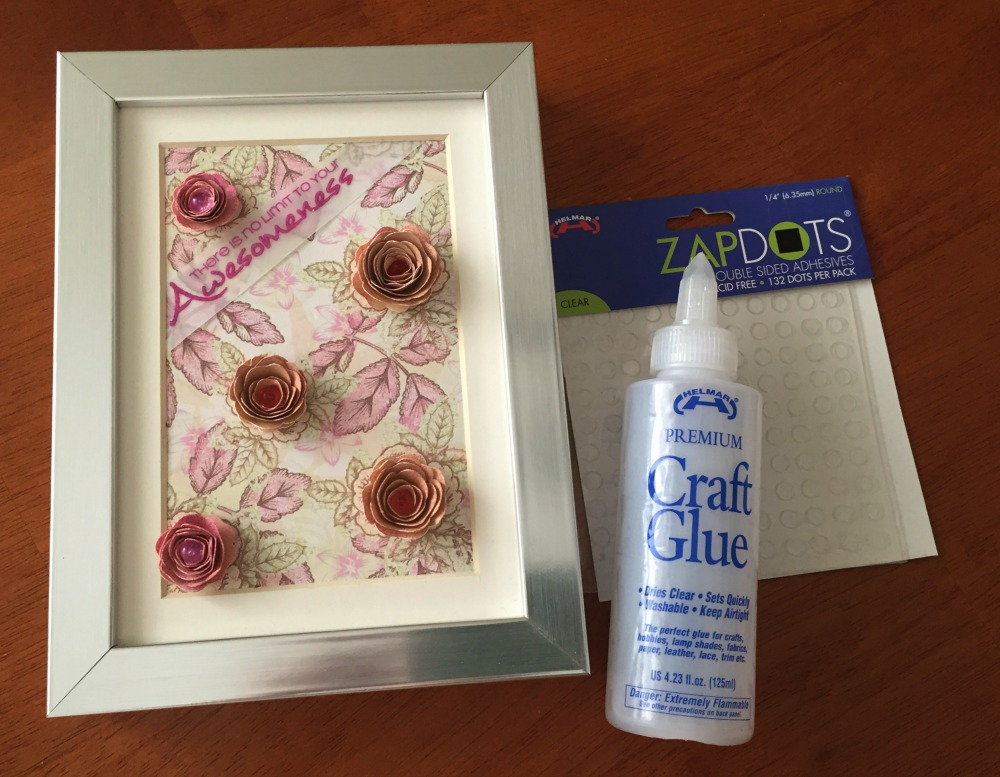 DIY SPRING FRAME WITH HELMAR