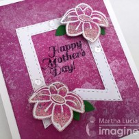 MOTHER PEARL TECHNIQUE – MOTHER'S DAY CARD