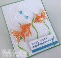 COLOR LAYERING GOLD FISH STAMP SET