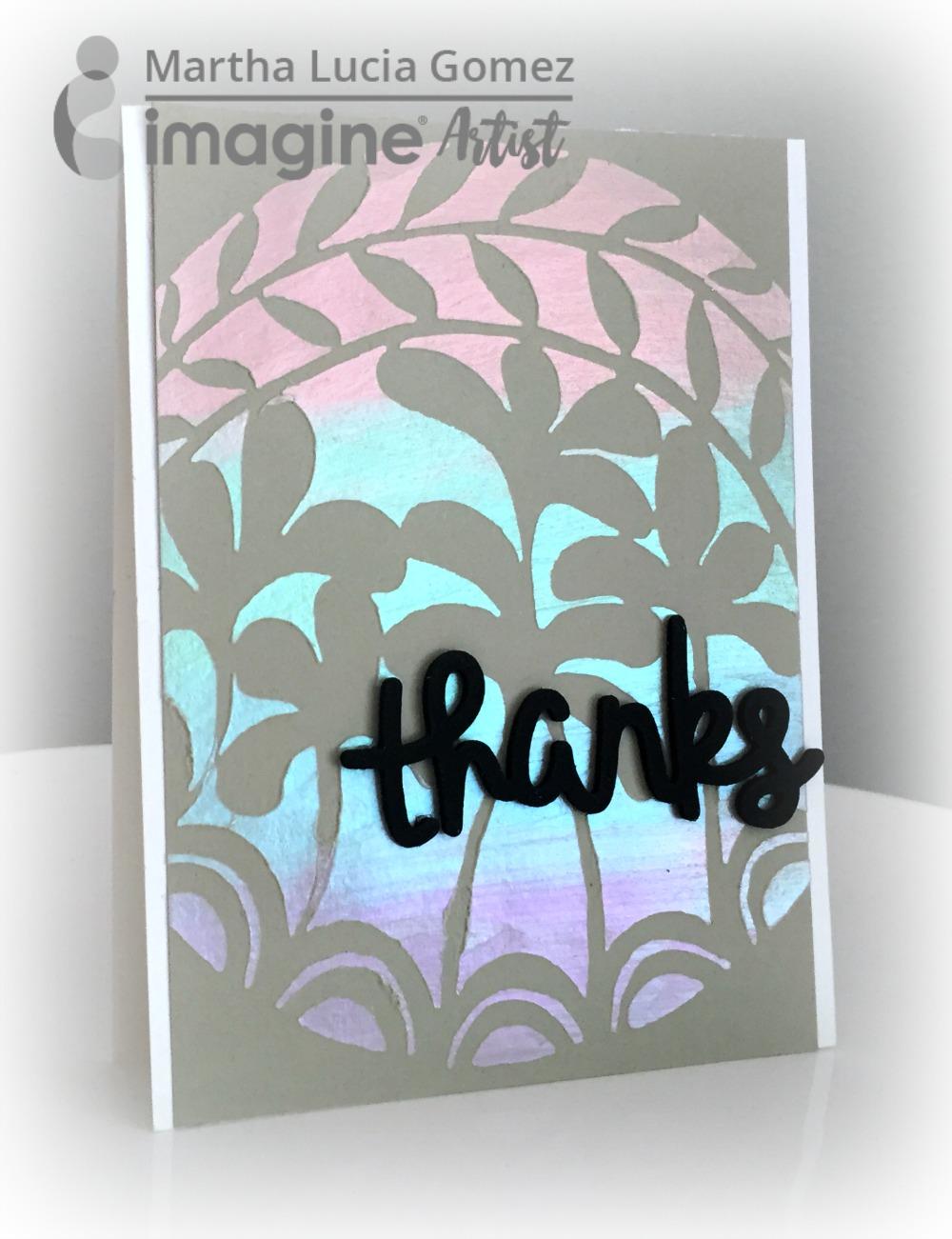 IMAGINE & STENCIL GIRL BLOG HOP