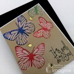 Layering Stamping with Delicata Ink