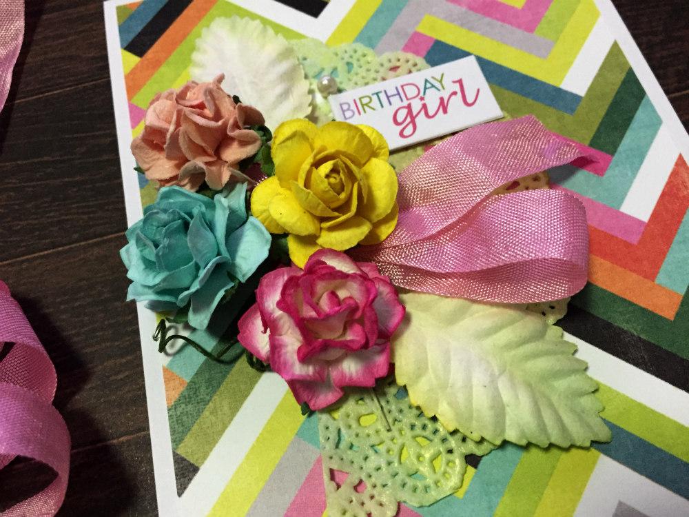 Birthday Girl with Secret Garden