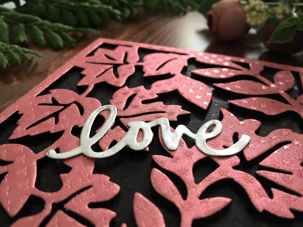 LOVE CARD WITH DIMENSION