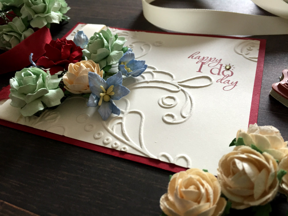 Paper Flowers for I do day