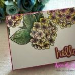 Beautiful Blooms- Hydrangea in watercolor