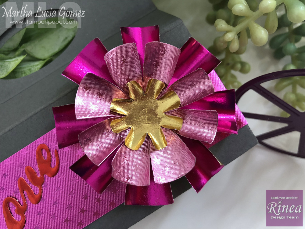 Stars or Flowers with Rinea Paper Foil