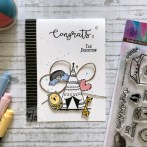 New Baby Card with Joy Clair