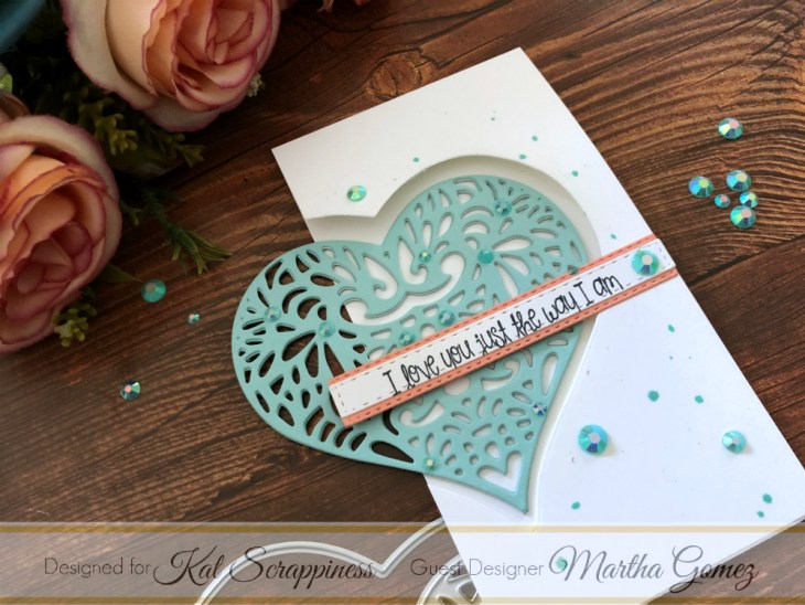 Lacy Layered Heart and Stitched Sentiment Strips