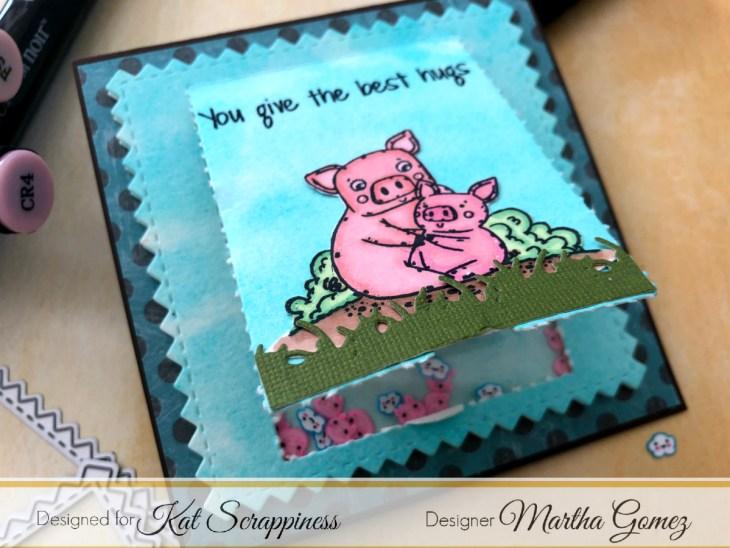 Square Shaker Card