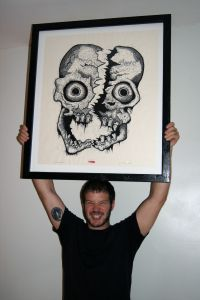 with Cleaved Skull