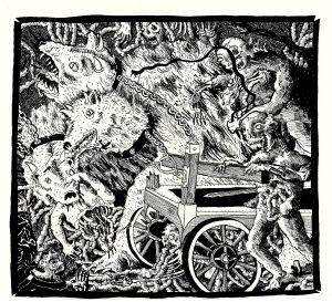 Wheeled Cart of the Apocalypse