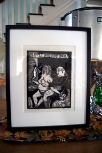 Barnabas Bock Framed