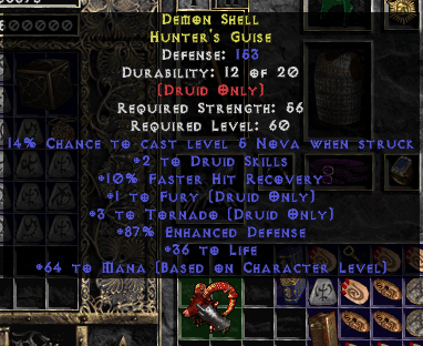 Epic Diablo 2 LOD Hunter's Guise
