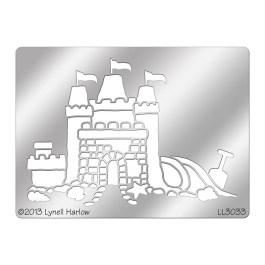 DWLL3033 Sand Castle Stencil