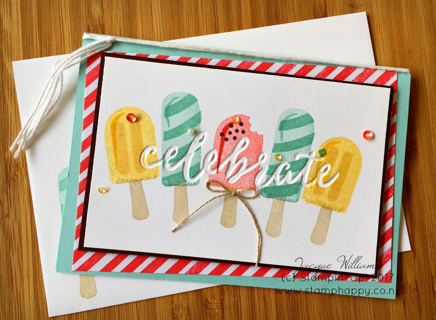 cool treats debossed birthday card  tutorial video