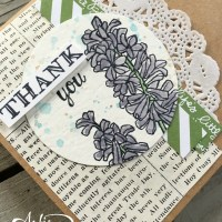 March Stamp of the Month Club~ Helping Me Grow