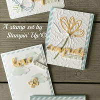 August Stamp of the Month Club~ Sunshine Sayings