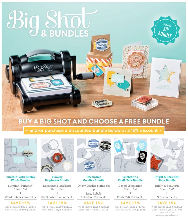 Stampin' Up! Big Shot Bundle