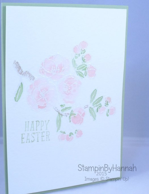 Stampin' Up! UK Easter Indescribable Gift Fantasy Stampers Challenge