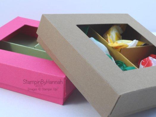 Stampin' Up! UK sweetie box video tutorial