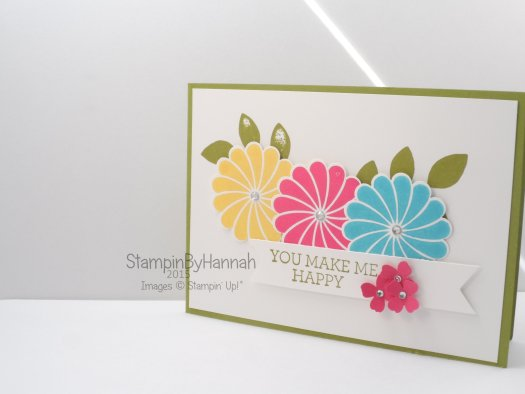 Stampin' Up! UK Freshly Make Sketches Cardmaking 101 Crazy About You
