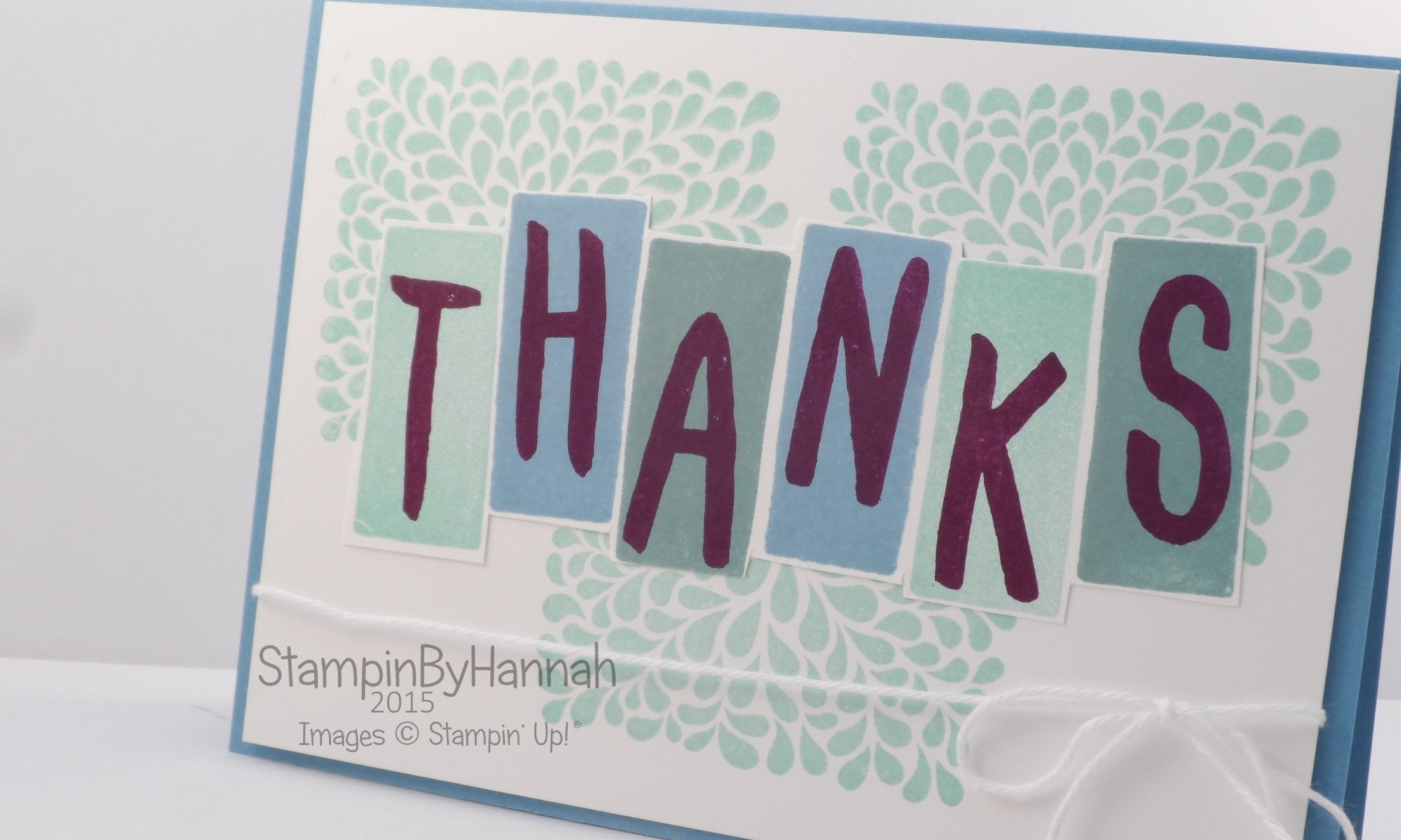 Stampin' Up! UK Technique videos