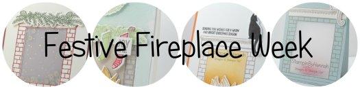 Stampin Up! Festive Fireplace Week