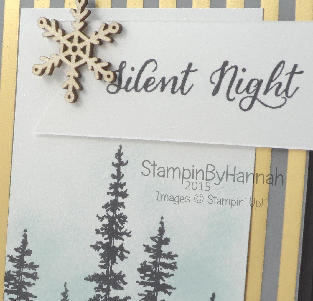 Stampin' Up! UK Wonderland card