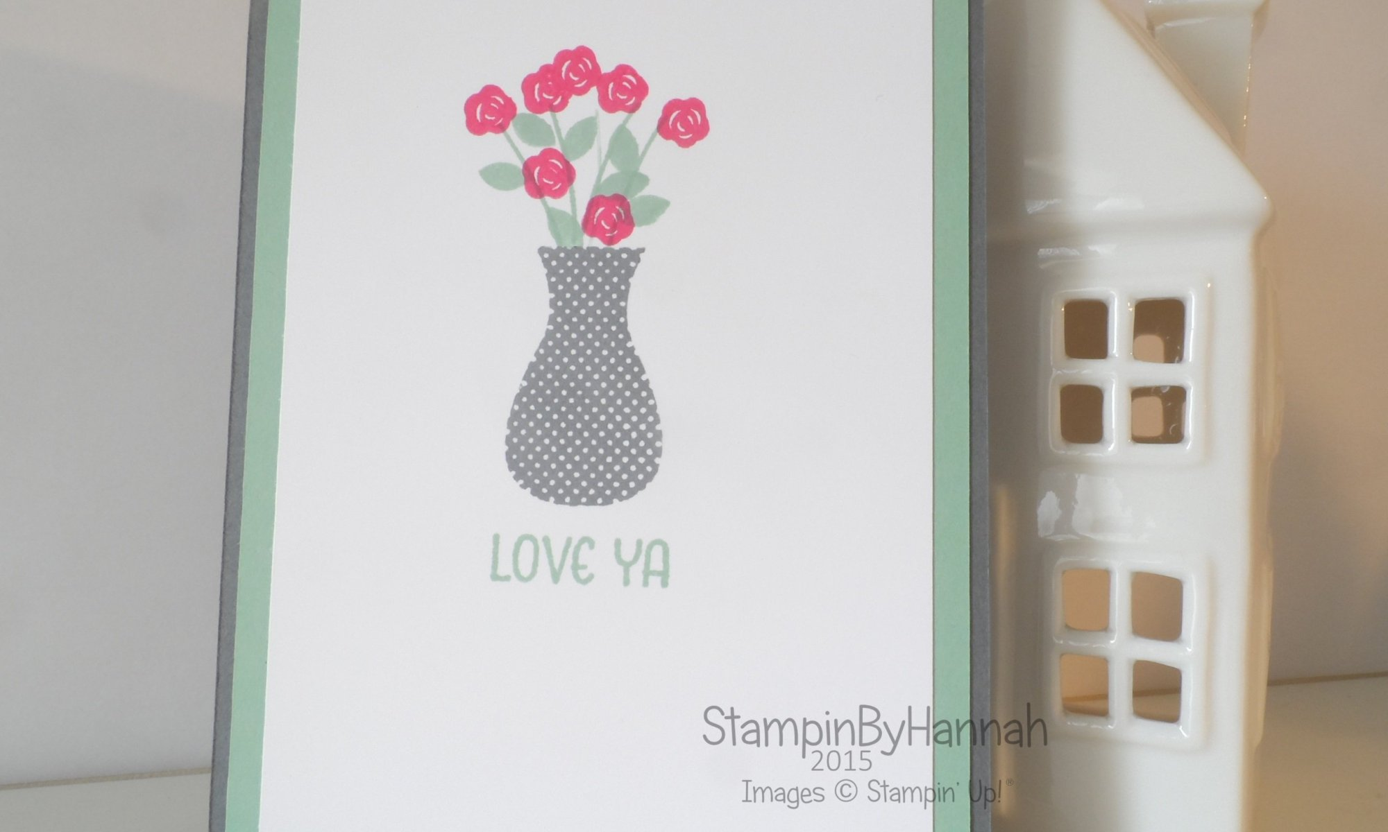 Stampin' Up! Uk Floral Wings Card