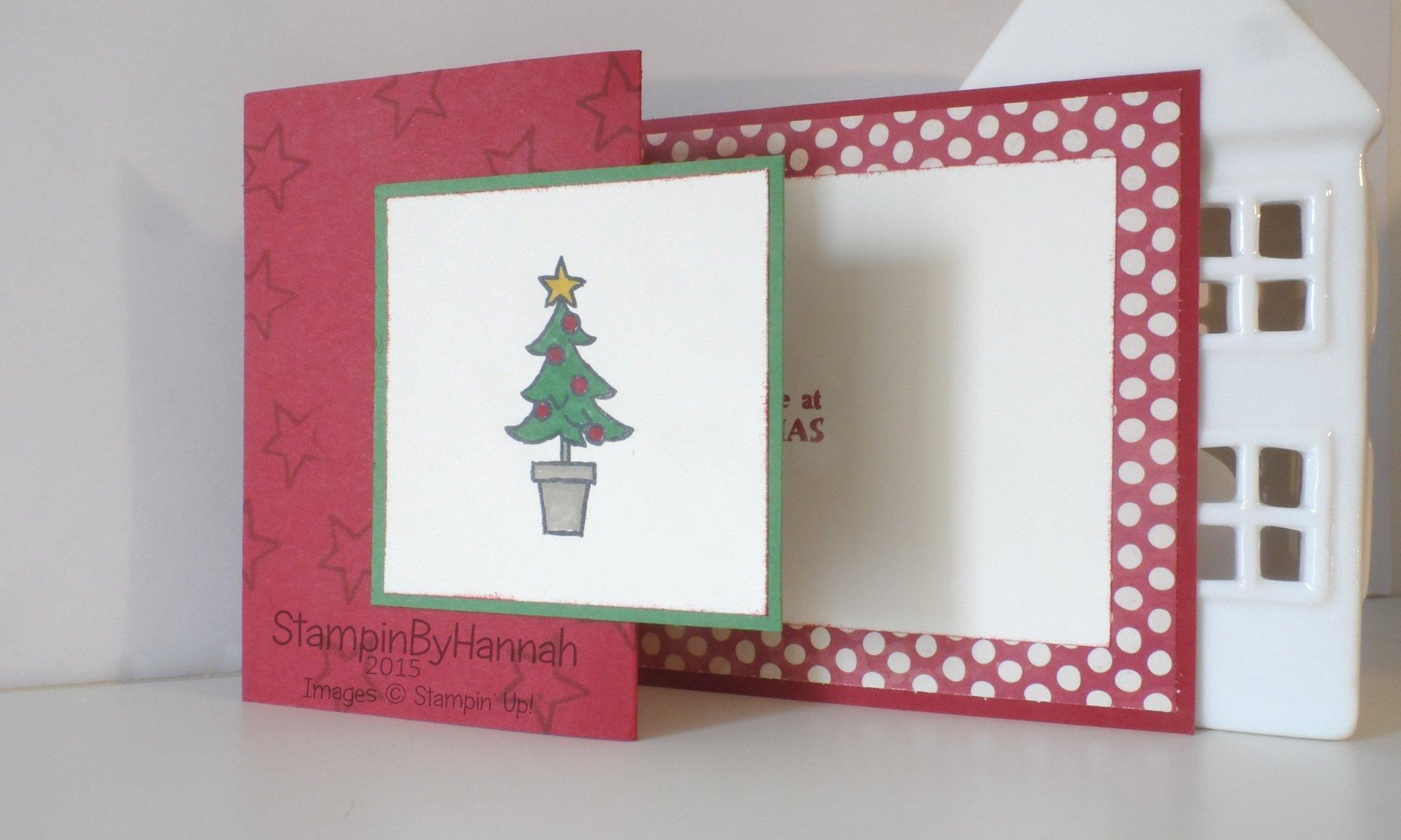 Stampin' Up! UK Santa's gifts Christmas card