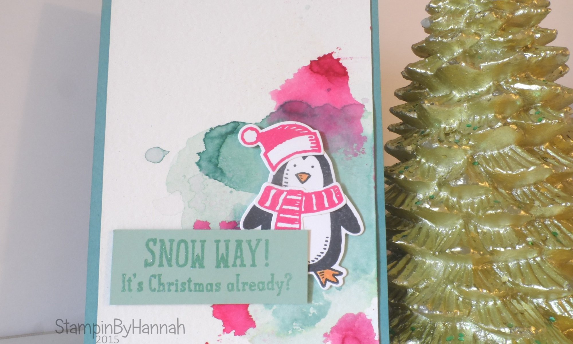 Stampin' Up! UK Snow Friends Video Tutorial