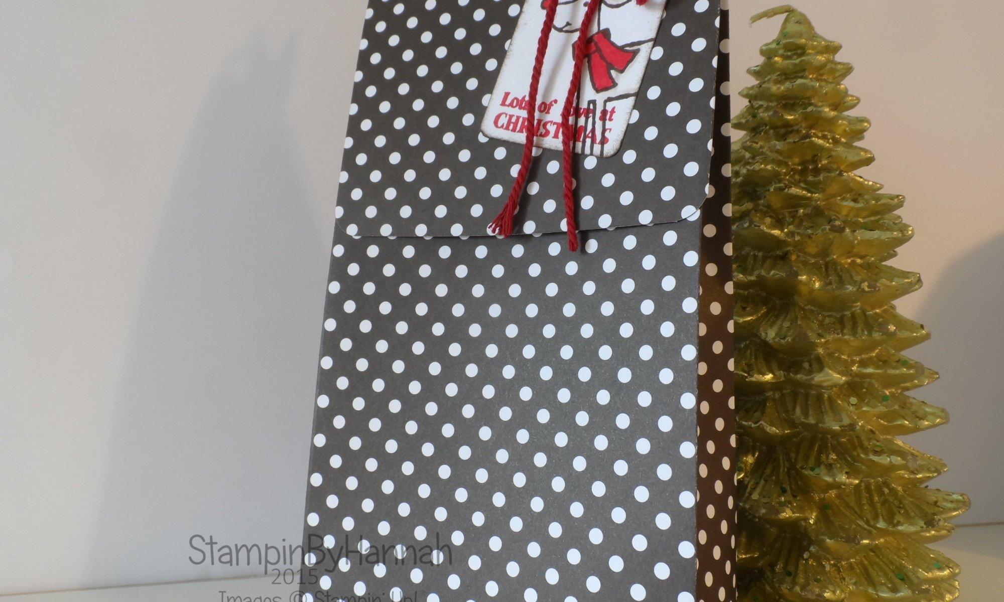 Stampin' Up! UK Christmas Gift Bag