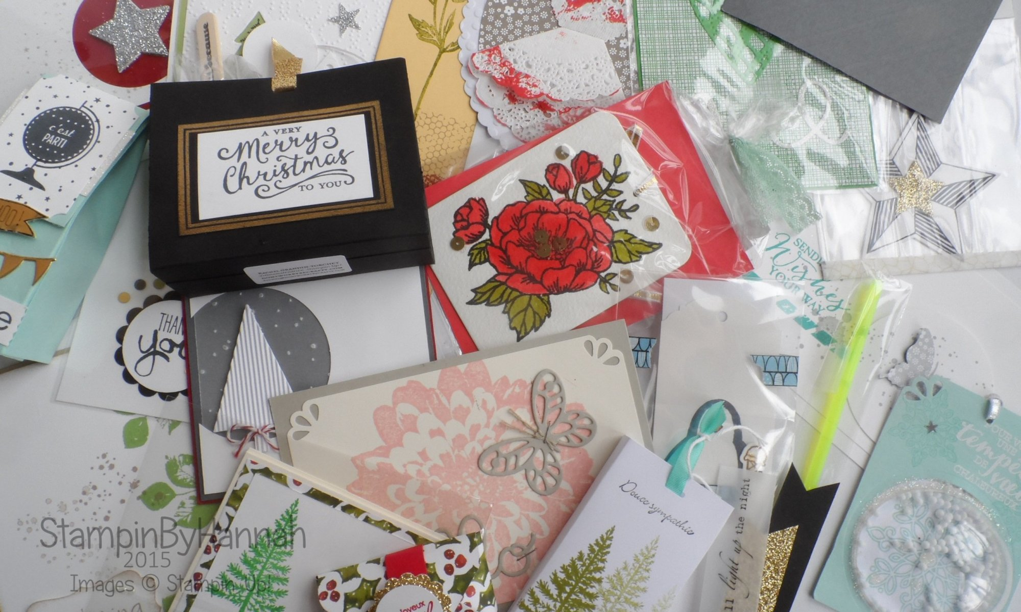 Stampin' Up! UK swaps from Brussels