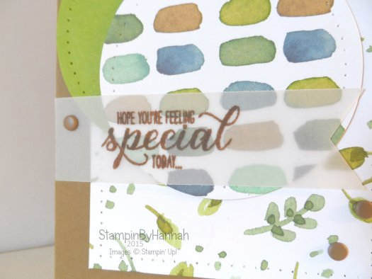 Stampin' Up! UK English Garden Birthday card