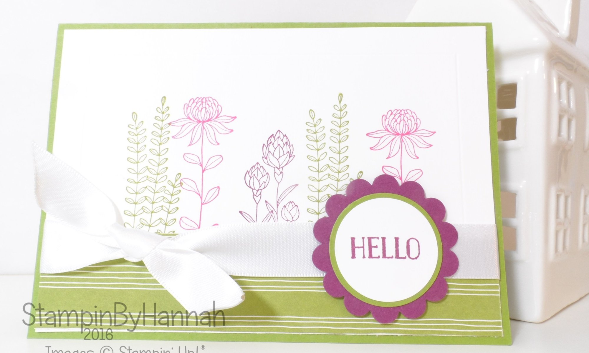 Stampin' Up! Flower Fields Sale-a-bration Card