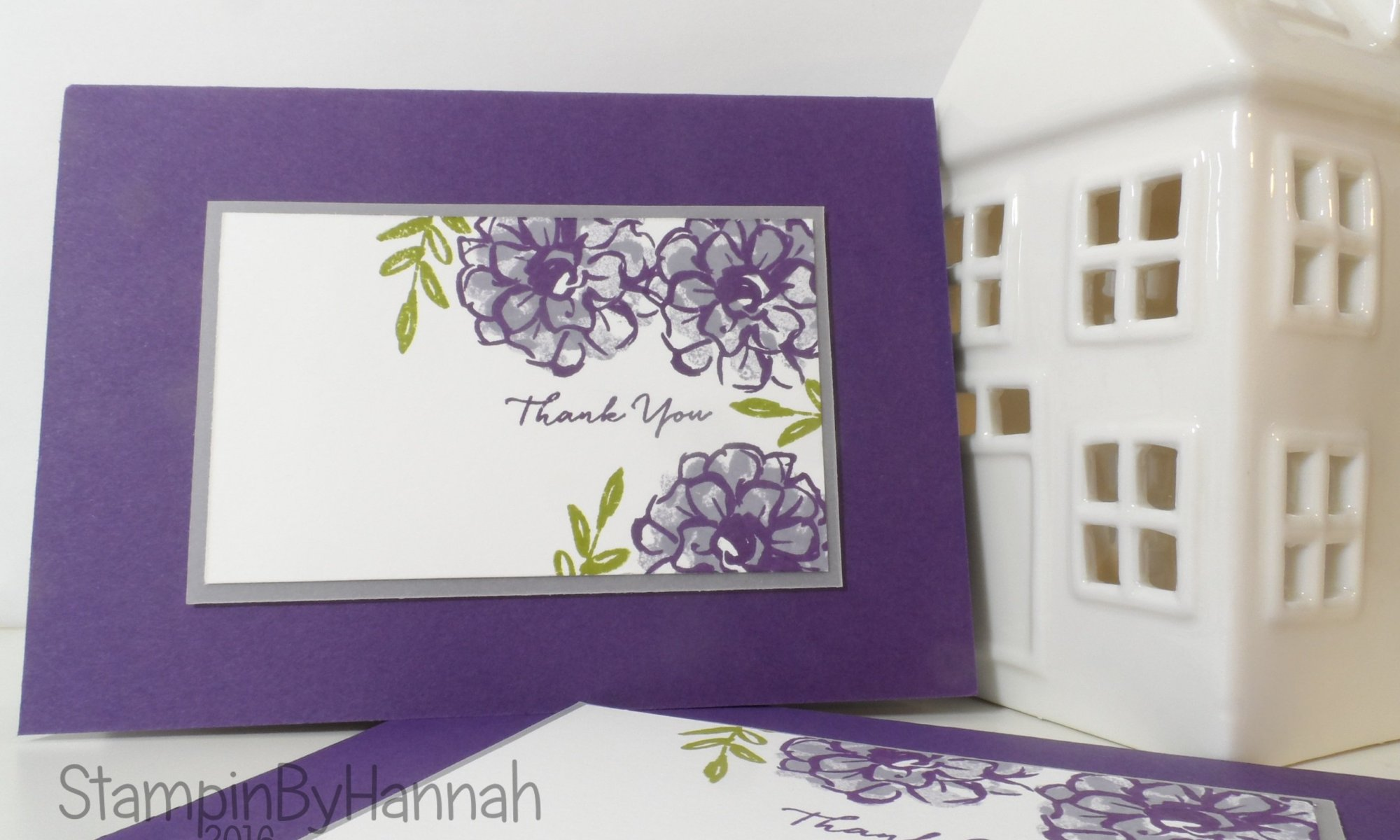 Stampin' Up! Sale-a-bration Thank You