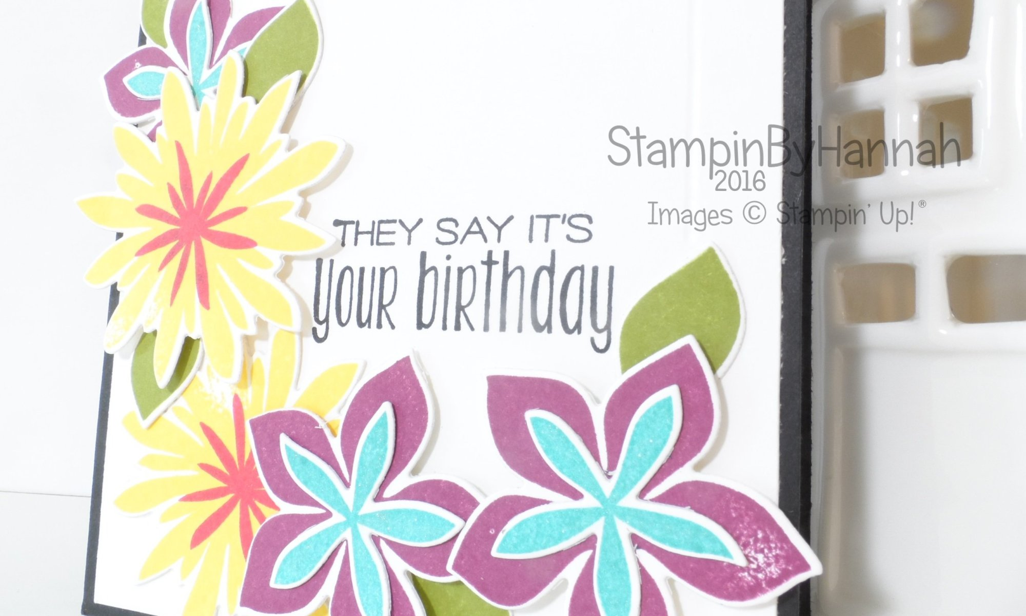 Stampin' Up! UK Flower Patch Suite Sayings