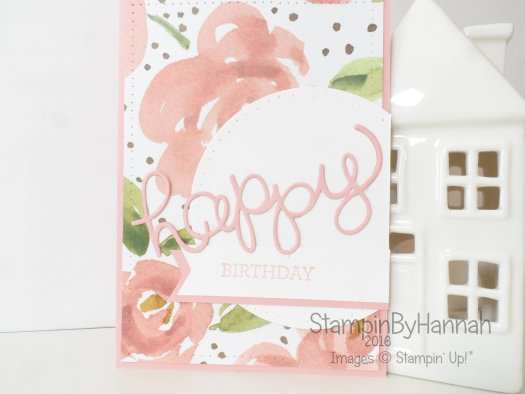 Stampin' Up! UK English Garden Birthday card