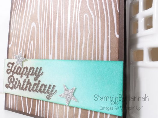 Stampin' Up! UK boys birthday card